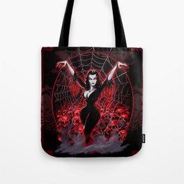 Web of Vampira Tote Bag