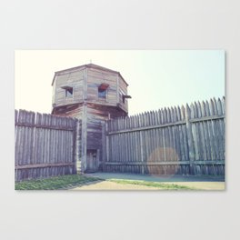 Fort Vancouver Canvas Print
