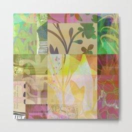 Perennials at Dusk Metal Print
