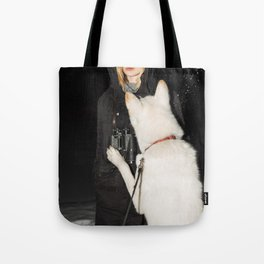 White Fang Tote Bag