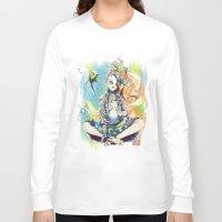 sandman Long Sleeve T-shirts featuring Delirium by Archiri Usagi