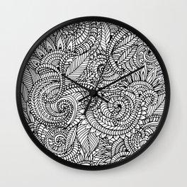 lots of pattern Wall Clock