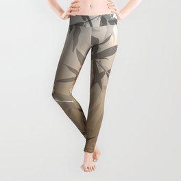 Beautiful Copper Butterfly Design Leggings