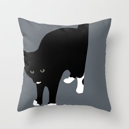 Halt Throw Pillow