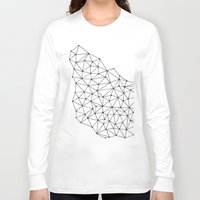 polygon Long Sleeve T-shirts featuring Polygon by Boneva