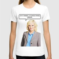 leslie knope T-shirts featuring Leslie Knope by Hannah