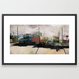 Charm City, MD Framed Art Print