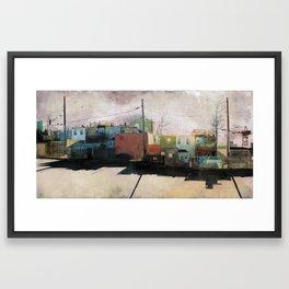 Charm City, MD Framed Art Print
