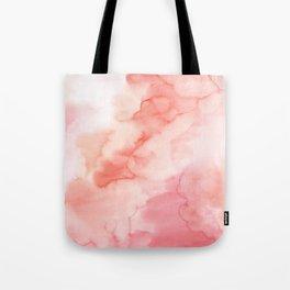 Warm pink waters Tote Bag