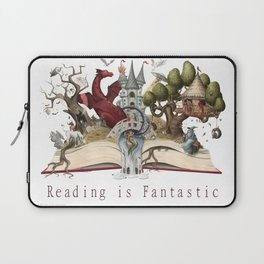 Reading is Fantastic Laptop Sleeve