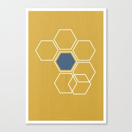 Hex Canvas Print