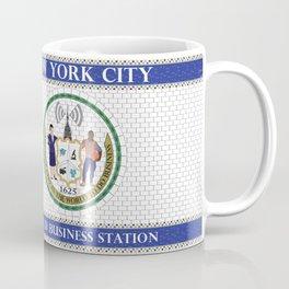 NYC World Business Station Coffee Mug