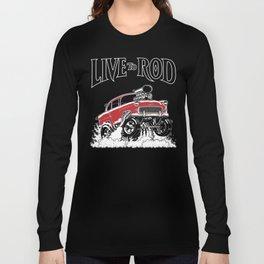 1955 CHEVY CLASSIC HOT ROD Long Sleeve T-shirt