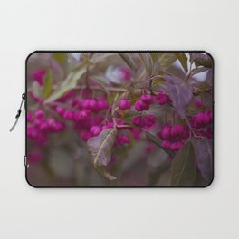 Fruits of Autumn in bold pink Laptop Sleeve