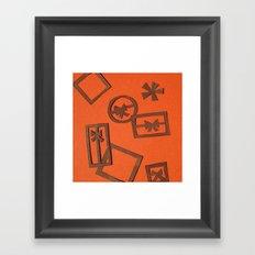 Ermay Papercut Framed Art Print
