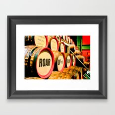 Roll 'Em In Framed Art Print