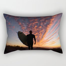 Surfer's Sky Rectangular Pillow