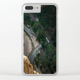 On the Edge Clear iPhone Case