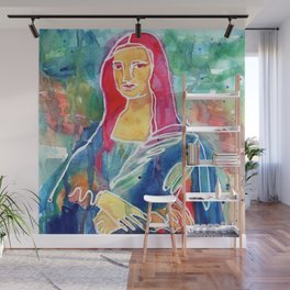 Mona Lisa Wall Mural