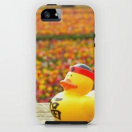 Tulip Ducky iPhone Case