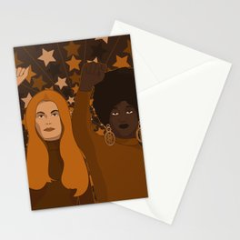 Female Fighters Stationery Cards