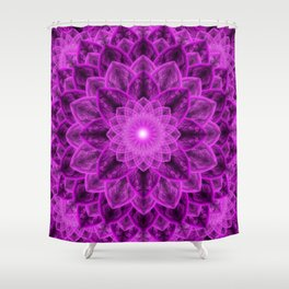 Royal Flower Mandala Shower Curtain