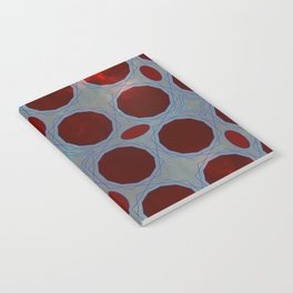 Pattern 3 Red Notebook