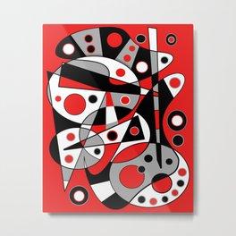 Abstract #962 Metal Print