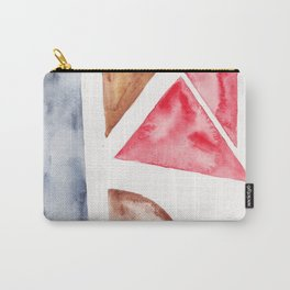10 | Abstract Geometric | 191015 Carry-All Pouch