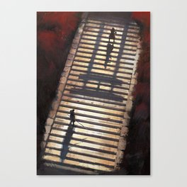 Samurai 2 Canvas Print