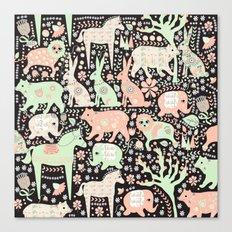 Cucumber Forest Canvas Print