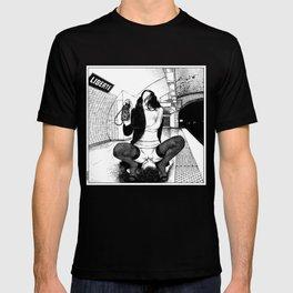 asc 584 - Une Américaine à Paris (My 4th of July in Paris) T-shirt