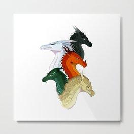 All Wings Of Fire Metal Print