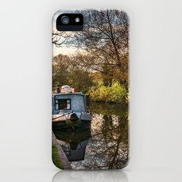 An Autumn Afternoon At Hungerford iPhone Case