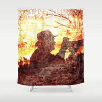 photograph Shower Curtains featuring the photograph by MehrFarbeimLeben