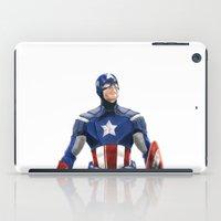 captain iPad Cases featuring Captain by Carrillo Art Studio