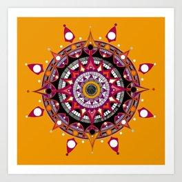 Mandala 010 Art Print