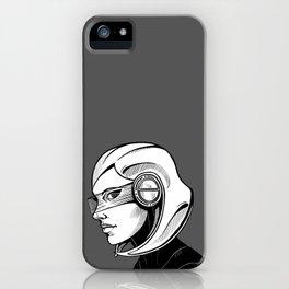 EDI - B&W profile iPhone Case