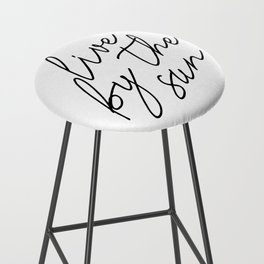 live by the sun love by the moon (1 of 2) Bar Stool
