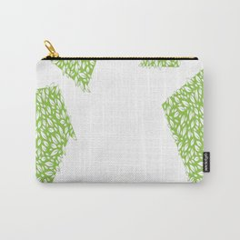 leaf recycle symbol copy Carry-All Pouch
