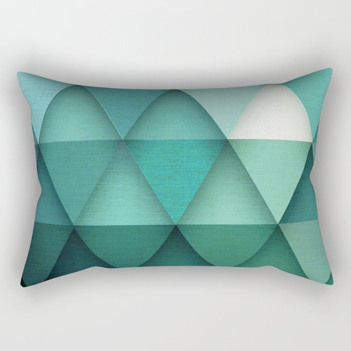 TRIANGULAR II Rectangular Pillow