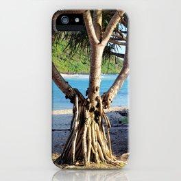 Looking through the Pandanus iPhone Case