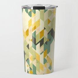 des-integrated tartan pattern Travel Mug