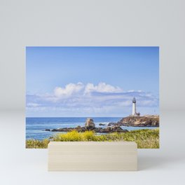 Pigeon Point Lighthouse, California Mini Art Print