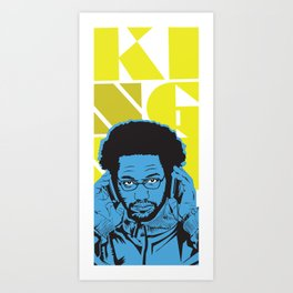 Philly King Art Print
