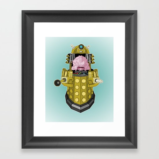 Kralek: Exterminate the Turtles! Framed Art Print