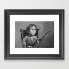 Loretta. Framed Art Print