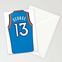Paul George Jersey Stationery Cards