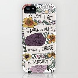 survive iPhone Case