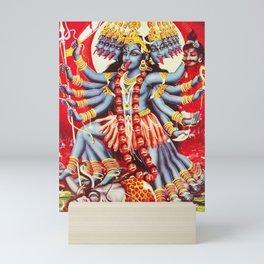 Hindu Kali 11 Mini Art Print